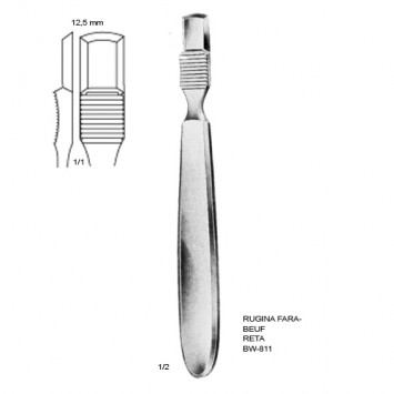 Rugina Farabeuf 12,5mm RETA