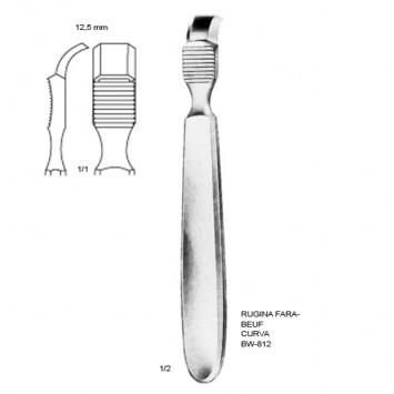 Rugina Farabeuf 12,5mm CURVA