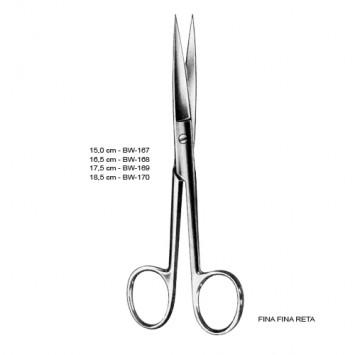 Tesoura Cirúrgica Reta F/F