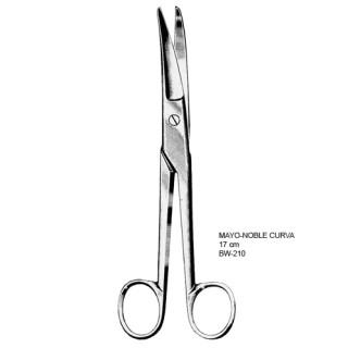 Tesoura Mayo-Noble 17cm CURVA