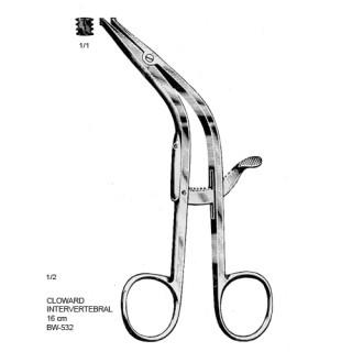 Afastador Cloward Intervertebral 16cm